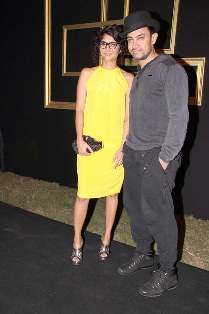 Deepika's black and gold themed party