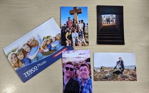 Tesco Photo order photo prints online - Credit: Jack Rear