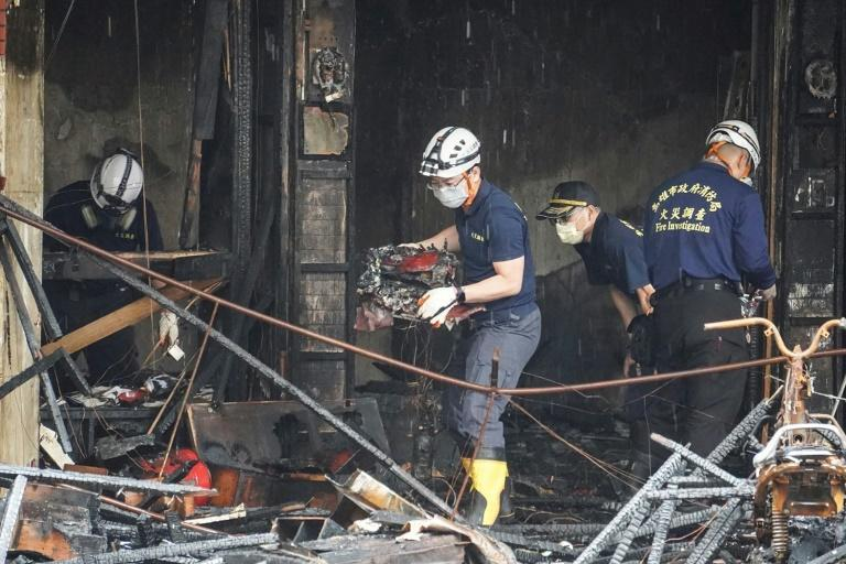 Authorities say they have not ruled out any cause yet, including arson (AFP/STR)