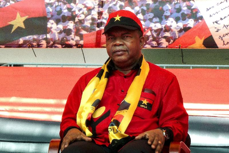 Defence Minister Joao Manuel Goncalves Lourenco was nominated by Angola's ruling MPLA party to run in August's presidential election, and will likely succeed President Dos Santos as he is running largely unopposed (AFP Photo/)