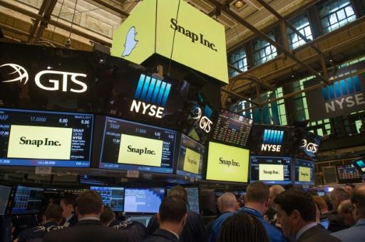 Snap shares sink as IPO euphoria vanishes