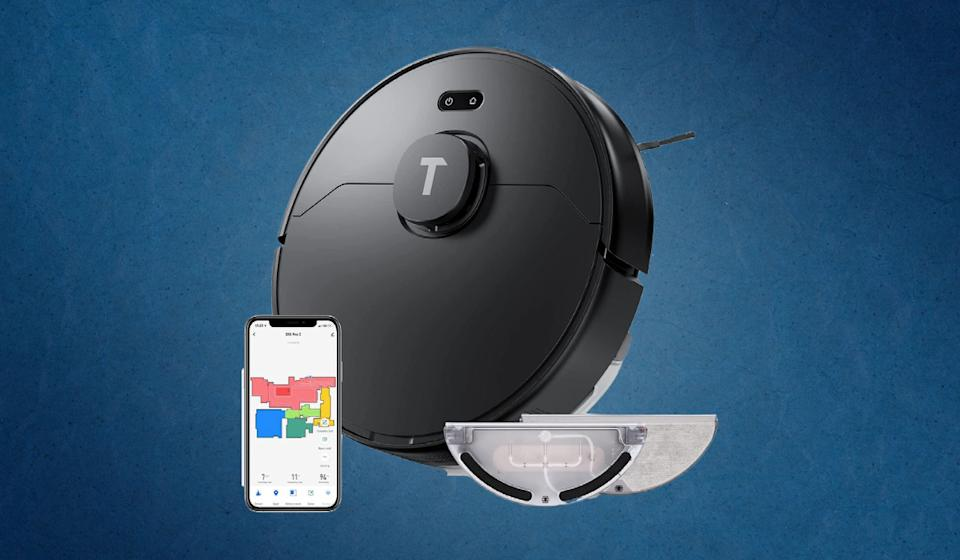 A robot vacuum/mop with laser-guided navigation for under $100? That's unheard-of. There's just one small catch. (Photo: Amazon)