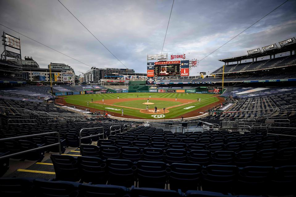 A view of Nationals Park.rts