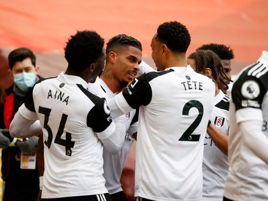 Lemina celebrates with his Fulham team-matesGetty Images