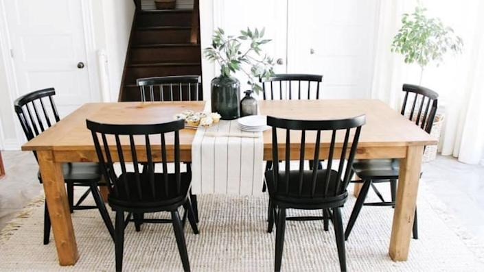 Hayneedle is a great place to hunt for affordable furniture.