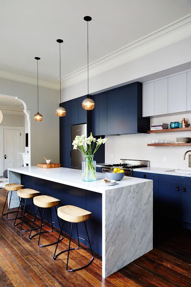 & 10 Kitchen Cabinet Color Combinations Youu0027ll Actually Want To Commit To