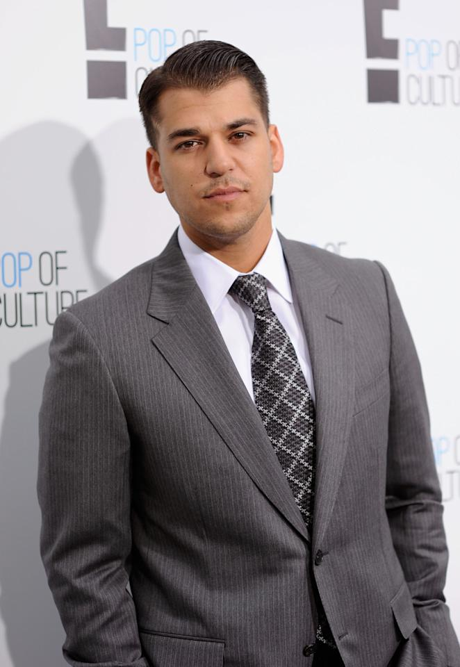 """<b>Rob Kardashian</b> <br><br>The son of reality television's famous family has become a breakout star on """"Keeping Up with the Kardashians"""" and """"Khloe and Lamar."""""""