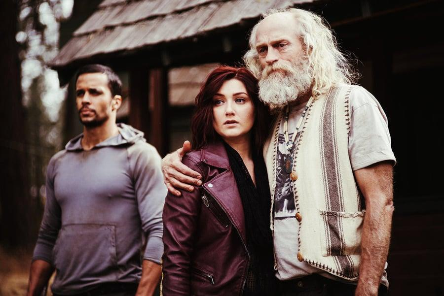 <p>SyFy's <strong>Z Nation</strong> is a postapocalyptic thriller set three years after zombies have ravaged the world. It's not as bleak as that other zombie show you might be thinking about, but it's just as savage.</p> <p><strong>Scare factor:</strong> 😱 😱</p>
