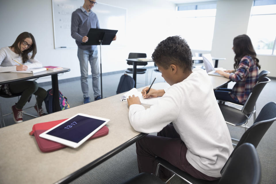 A lawsuit brought against a New Jersey school and its debate coach highlights the high-pressure world of the children's debate community. (Photo: Getty Images stock image)
