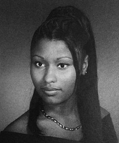 <p>Back when she was known as Onika Maraj at LaGuardia High School of Performing Arts, Nicki Minaj was already rocking the elaborate updos.<i> (Photo: Seth Poppel/Yearbook Library)</i></p>