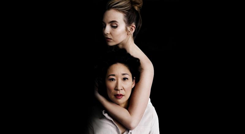 Killing Eve: Oh is up for the Best Actress in a TV series gong (BBC/Sid Gentle Films/Jason Bell)