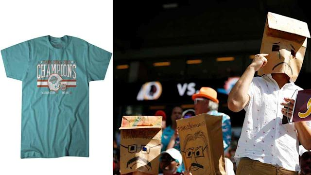 Dolphins proclaimed 'Tank Bowl' champions on new T-shirt