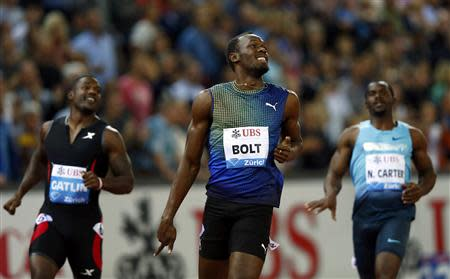 Usain Bolt has a 'slow' problem