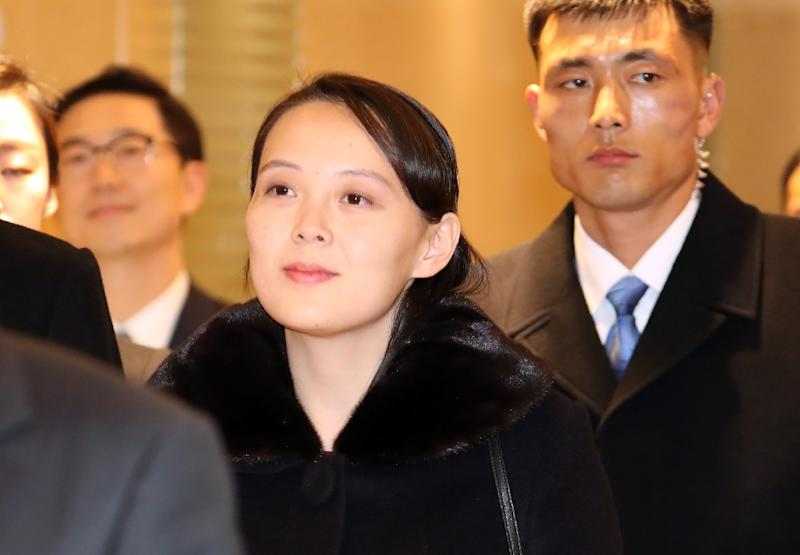 Kim Yo Jong is one of the most powerful women in the isolated regime (AFP Photo/-)