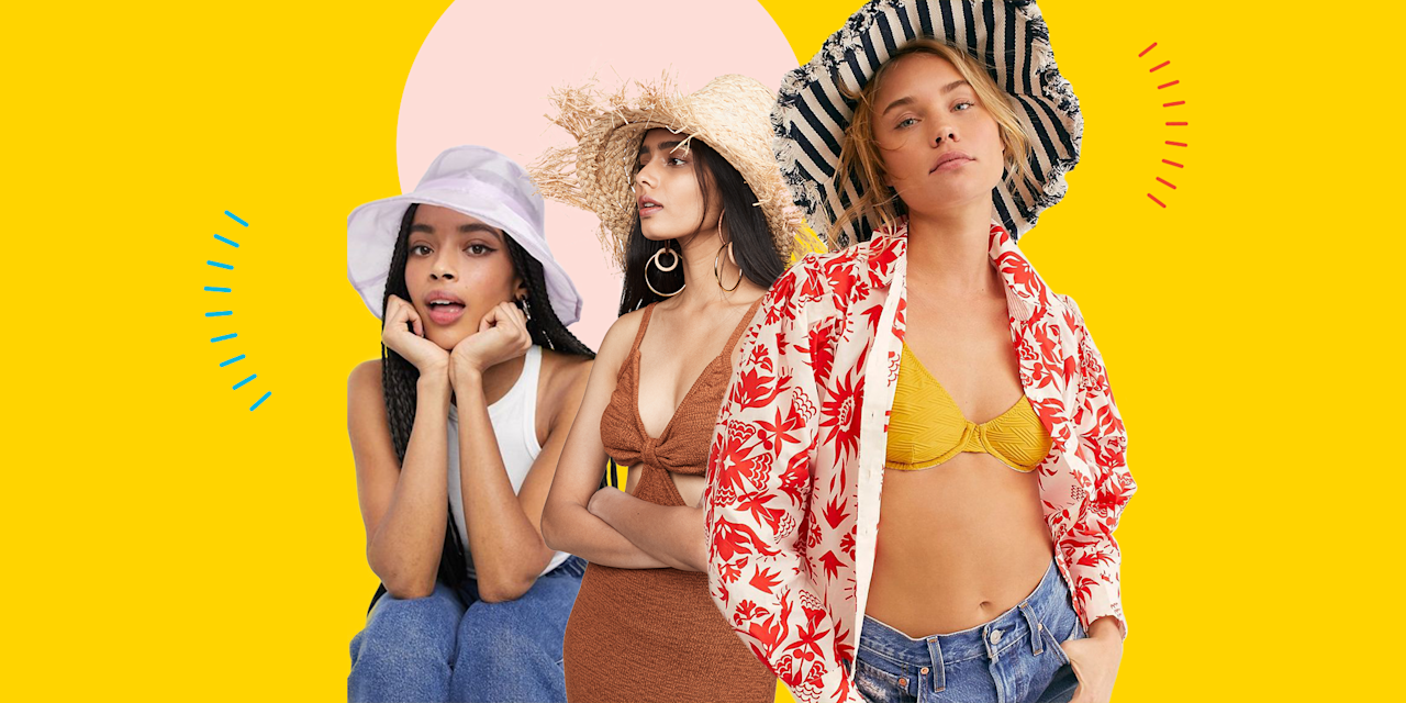 """<p>This might just be me, but the second the temperature climbs over 55 degrees I pretty much run to my closet, <a href=""""https://www.cosmopolitan.com/style-beauty/fashion/advice/a6868/bathing-suits-for-each-body-type/"""" target=""""_blank"""">whip out a cute swimsuit</a>, start to plan that long-awaited <a href=""""https://www.cosmopolitan.com/sex-love/a20800023/bff-vacation-bestiemoon/"""" target=""""_blank"""">vacation with my BFFs</a> and, of course, find the perfect summer hat to tie it all together. But, what kind of hat girl will you be, you ask? Truly, there are so many <a href=""""https://www.cosmopolitan.com/style-beauty/fashion/a30213987/types-of-hats/"""" target=""""_blank"""">types of hats</a>—from caps to visors to ranchers to Panamas and tons more. But regardless of what kind of look you're going for, here are 20 cute summer hats for women, whether you're going on a Kylie Jenner-esque beach vacay or just chillin' drinking iced coffee on your patio. </p>"""