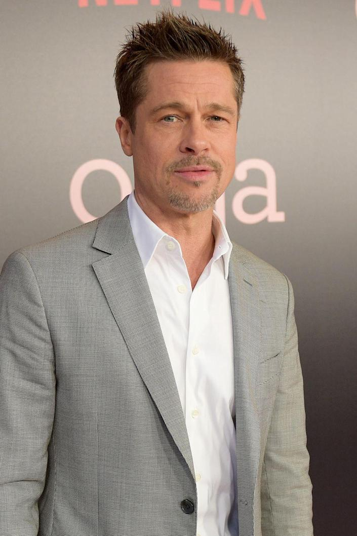 """<p>The actor opened up most recently in his <a href=""""http://www.gq.com/story/brad-pitt-gq-style-cover-story"""" rel=""""nofollow noopener"""" target=""""_blank"""" data-ylk=""""slk:GQ Style"""" class=""""link rapid-noclick-resp"""">GQ Style</a> cover story this year about the struggles he has faced with alcohol addiction in the past. When asked about his experience going cold turkey, he simply explained """"I didn't want to live that way any more."""" </p>"""