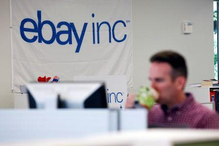 EBay lower as Q2 earnings, sales in line with forecast