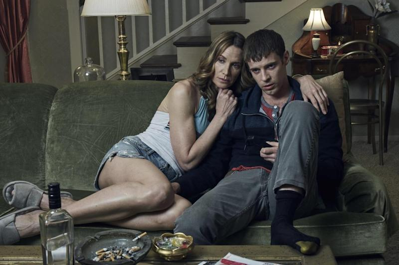 Kelly Lynch and Harry Treadaway in