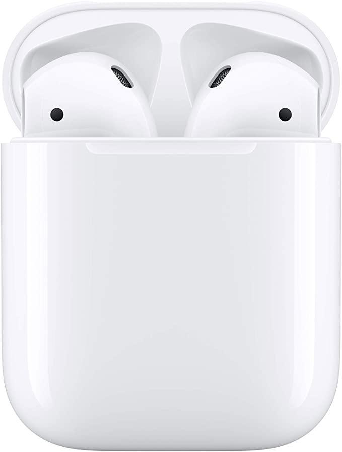 """<h2>25% Off Apple AirPods With Wired Charging Case</h2><br>100,000+ people to date have declared their love (or at the very least satisfaction) for the earlier Apple AirPods with wired charging case. The latest review posted to Amazon yesterday declares, """"They're honestly perfect! Nothing to complain about. Noise cancellation is amazing and the battery life is standard so I bought this as a gift and they're perfect! Will buy another."""" Pretty straightforward. <br><br><em>Shop</em> <strong><em><a href=""""https://amzn.to/3zJriRh"""" rel=""""nofollow noopener"""" target=""""_blank"""" data-ylk=""""slk:Apple"""" class=""""link rapid-noclick-resp"""">Apple</a></em></strong><br><br><strong>Apple</strong> Apple AirPods with Charging Case (Wired), $, available at <a href=""""https://www.amazon.co.uk/Apple-Airpods-Charging-latest-Model/dp/B07PZR3PVB/ref=sr_1_3?"""" rel=""""nofollow noopener"""" target=""""_blank"""" data-ylk=""""slk:Amazon"""" class=""""link rapid-noclick-resp"""">Amazon</a>"""