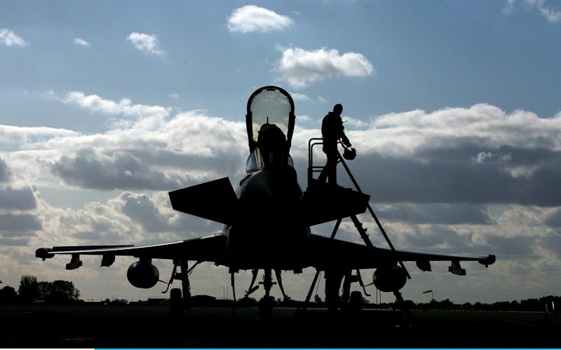 A Typhoon jet - Getty Images