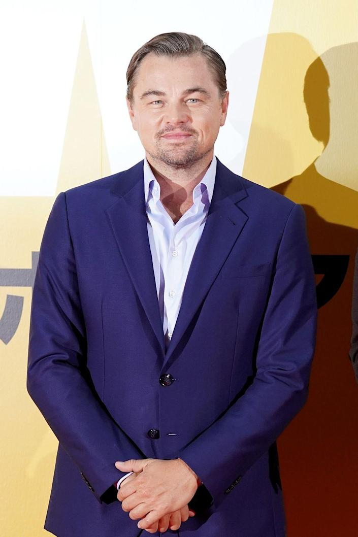 """<p>Now: Almost three decades after his first role, DiCaprio is one of the biggest names in Hollywood—and <a href=""""https://variety.com/2019/film/news/celebrity-salaries-leonardo-dicaprio-margot-robbie-dwayne-johnson-will-smith-1203200508/"""" rel=""""nofollow noopener"""" target=""""_blank"""" data-ylk=""""slk:one of the highest paid actors"""" class=""""link rapid-noclick-resp"""">one of the highest paid actors</a> in the industry. He holds an Academy Award and three Golden Globes.</p>"""