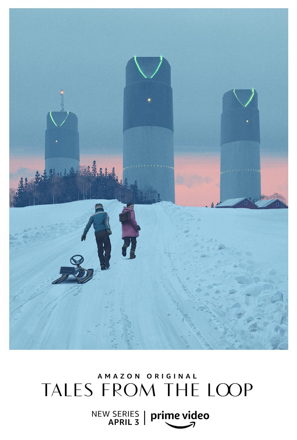Key art for Amazon's <i>Tales From The Loop</i>. (Prime Video)