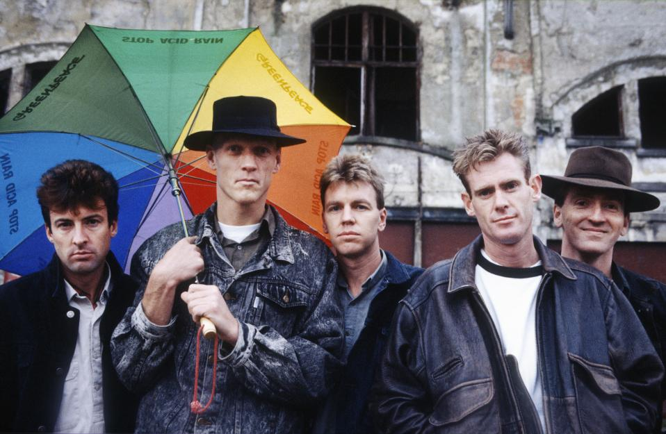 Image of Midnight Oil in 1988