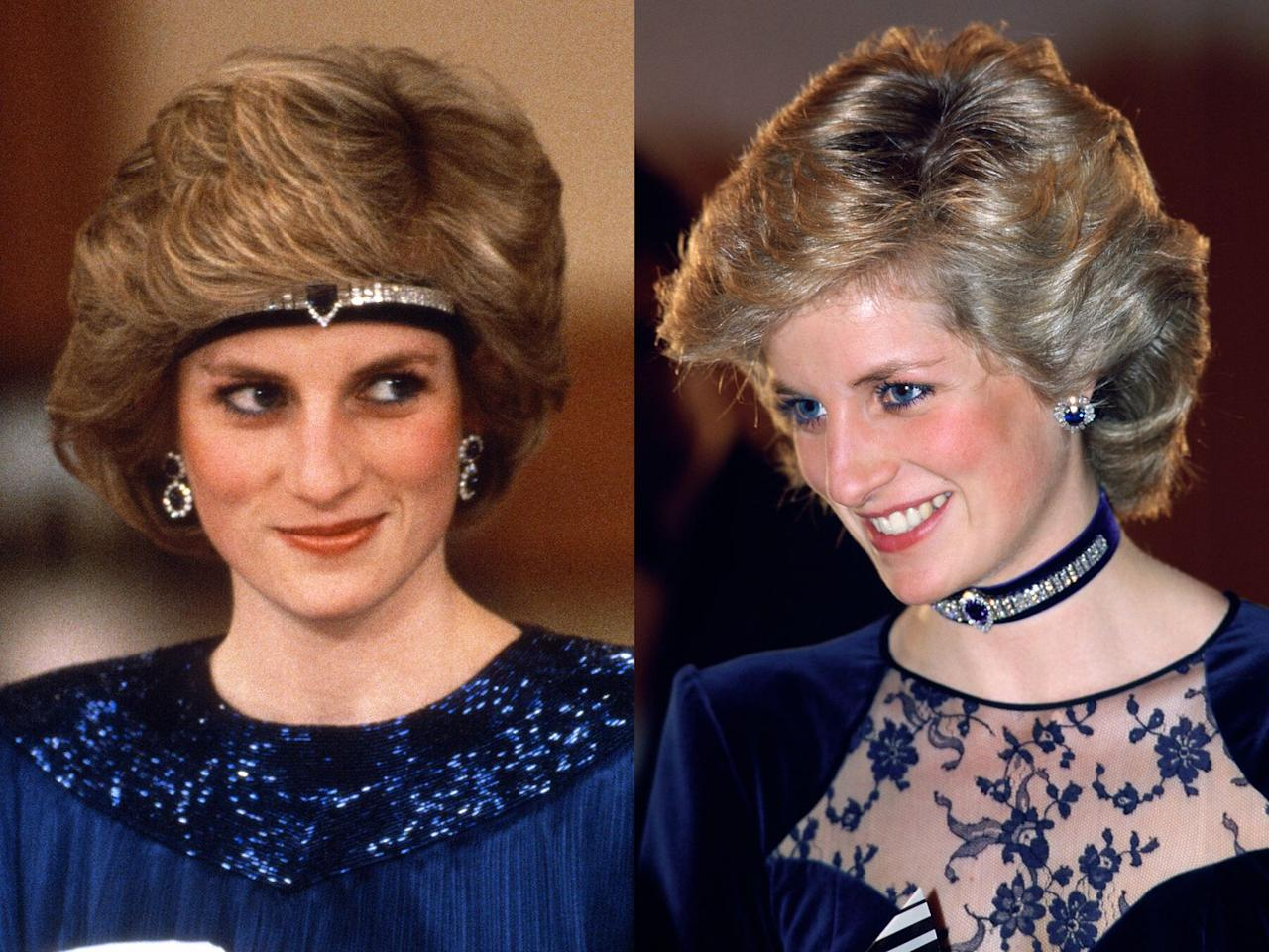 "<p>Diana was even inventive with <a rel=""nofollow"" href=""https://www.townandcountrymag.com/style/jewelry-and-watches/g20682652/princess-diana-jewelry-collection/"">her jewelry</a>. In May of 1986, she wore a headband made from jewels, which she had reset from the Saudi suite of sapphires. The gems reportedly came from a watch, and she wore the new look both around the head and as a choker necklace.</p>"