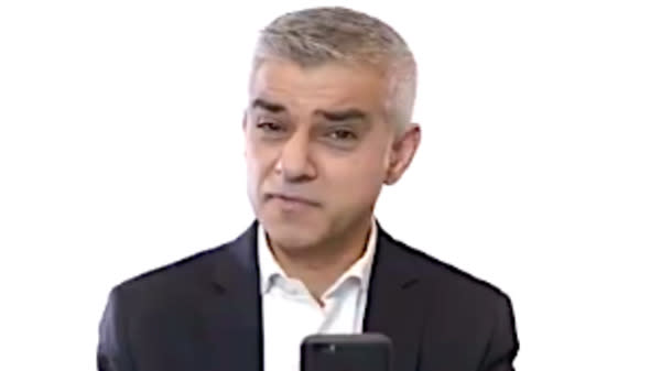 London Mayor Sadiq Khan Reads Hate Tweets He Receives In SXSW Speech