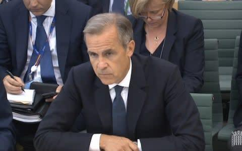 <span>Mark Carney is currently speaking to MPs</span> <span>Credit: Parliament TV </span>