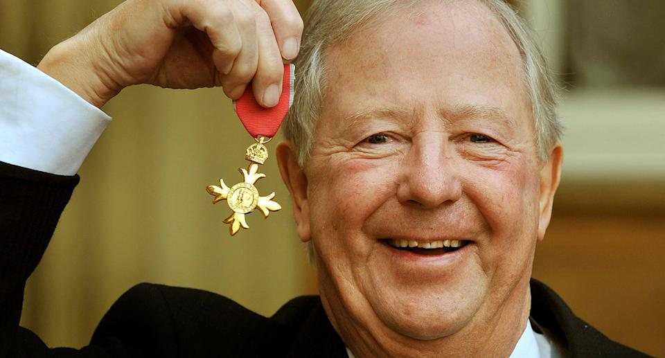 """One third of The Goodies Tim Brooke-Taylor died of complications from the coronavirus at the age of 79. He was remembered by the remaining members of the comedy trio with Bill Oddie describing him as a """"true visual comic and a great friend"""" while Graeme Garden said hew was """"terribly saddened"""" by the loss. (PA)"""