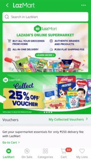 Online Grocery Delivery in the Philippines - LazMart