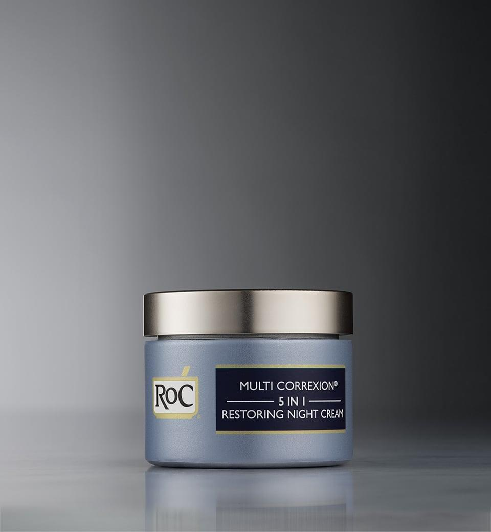 <p>Admittedly, I've never been a Roc girl, but after trying this, I've seen the light. This 5-in-1 cream almost makes me wish I had more wrinkles just so I could use it to smooth them out. (Almost.) It's a light moisturizer, but it really packs a punch. I woke up in the morning and my skin felt, and looked, hydrated.</p> <p><span>Roc Multi Correction 5-in-1 Restoring Night Cream</span> ($28)</p>