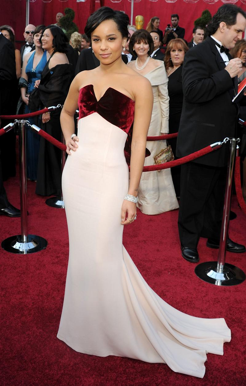 Kravitz arrives at the 82nd Annual Academy Awards held at Kodak Theatre on March 7, 2010 in Hollywood, California.