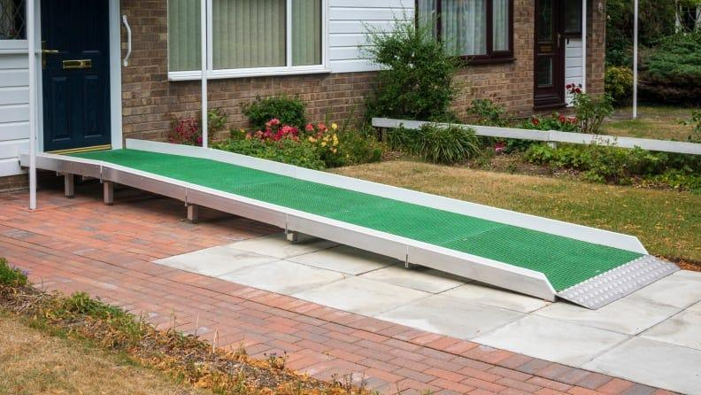 Consider renting a temporary ramp instead of installing a permanent one.
