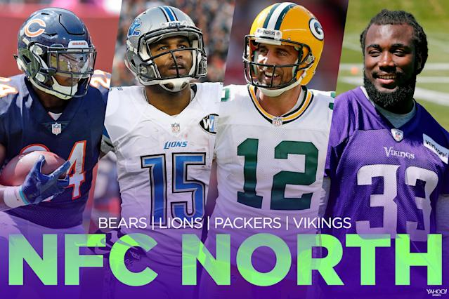 <p>The Green Bay Packers seem to be the clear favorite, but maybe the Minnesota Vikings and their star-studded defense can challenge them. The Detroit Lions will have a hard time replicating their 2016 playoff berth and the Chicago Bears are a long way from challenging for the playoffs. </p>