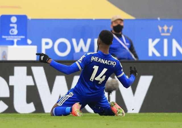 Former City striker Kelechi Iheanacho is in good form for Leicester