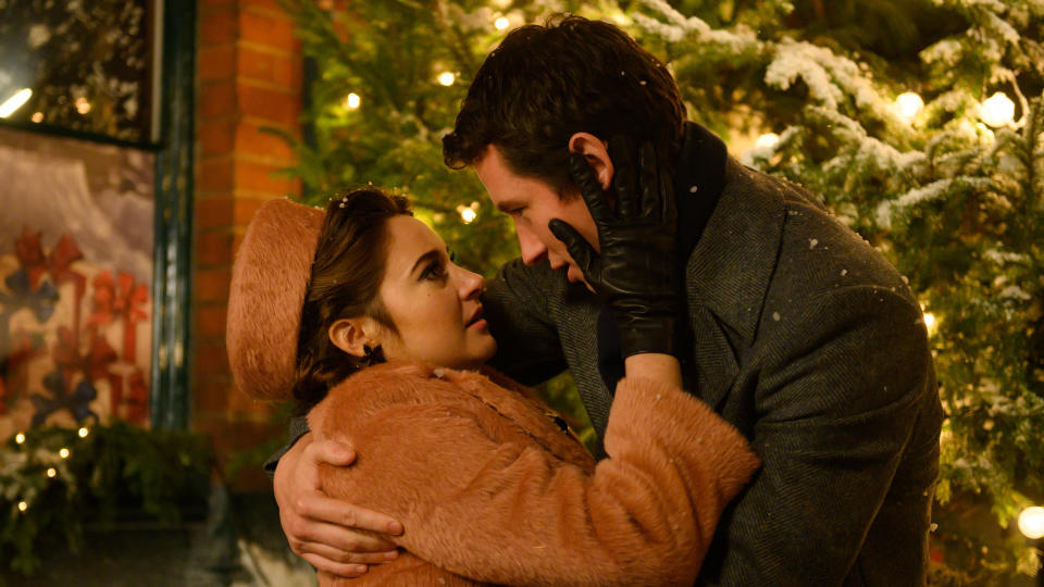 Felicity Jones was disappointed not to share a scene with her 'Last Letter From Your Lover' co-producer Shailene Woodley. (Parisa Taghizadeh/StudioCanal)