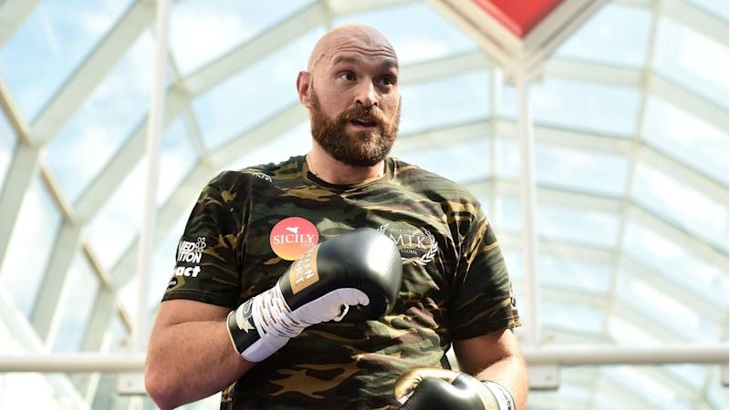 Tyson Fury: I was strip-searched trying to enter US