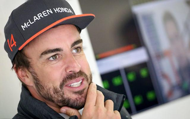 <span>Fernando Alonso will miss the Monaco Grand Prix while he races the Indy 500 </span> <span>Credit: EPA </span>