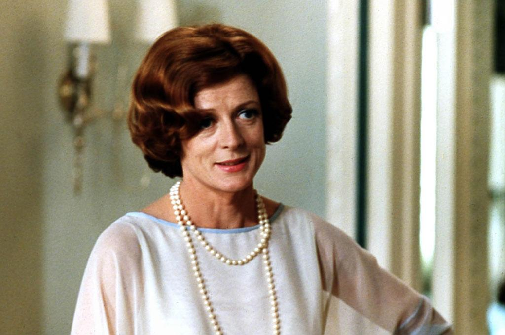 Smith won her second Oscar for portraying a British actress who loses an Academy Award. Soon after the ceremony, she flashes a hint of breast while slipping into her nightgown and chatting with her husband (Michael Caine) at the hotel. Her naked breast is seen through sheer fabric, but it can be clearly seen. Does this still count for nudity in an Oscar film?