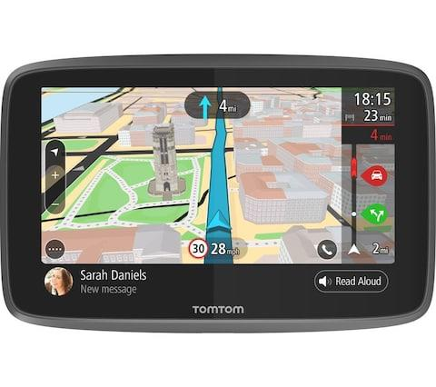 It can be temptingjust to rely on apps for navigation, but there are still lots of reasons to look for a sat nav for your car to help you get around while driving. Many cars still do not come with sat nav technology built-in, and although it is easy just to turn to Google Maps there are some key practical and safetyadvantages when using sat navs.Brands including Garmin and TomTom make some of the best Sat Navs, and come with features such as speed camera alerts and lane guidance. The best sat navs you can buy TomTom Start 25 £75, Amazon Credit: TomTom Screen size:5 inches Maps:UK, Ireland and Western Europe Features:Speed camera alerts For a basic level TomTom sat nav the Start 25 will give you all the features you need to get on the road. It features lane guidance to keep you in the right part of the road and comes with a year of free speed camera updates. The design has a simple suction mount small enough to squeeze with the TomTom into a pocket and a battery life of up to two hours. It does, however, lack live traffic updates and voice recognition of more expensive models. Buy now TomTom Via 53 £169, Halfords Credit: TomTom Screen size:5 inches Maps:UK, Ireland and Europe Features:Speed camera alerts, Siri compatible, voice control, hands-free calls TomTom's latest range of Via sat navs come with plenty of features if you want a mid-range model with a little bit extra. This model comes with hands-free calling and smartphone messages and is also compatible with Siri and Google Now. It features lifetime traffic updates, which need to be accessed via your smartphone on TomTom's app. It also comes with a lifetime of speed camera updates, although it does only havearound one hour of disconnected battery life. Buy now Garmin DriveSmart 60 LMT-D £199, Amazon Credit: Garmin Screen size:6inches Maps:UK, Ireland and Europe Features:Speed camera alerts, built-in traffic updates, voice control, hands-free calls For full traffic updates without the need for a smartphone conne