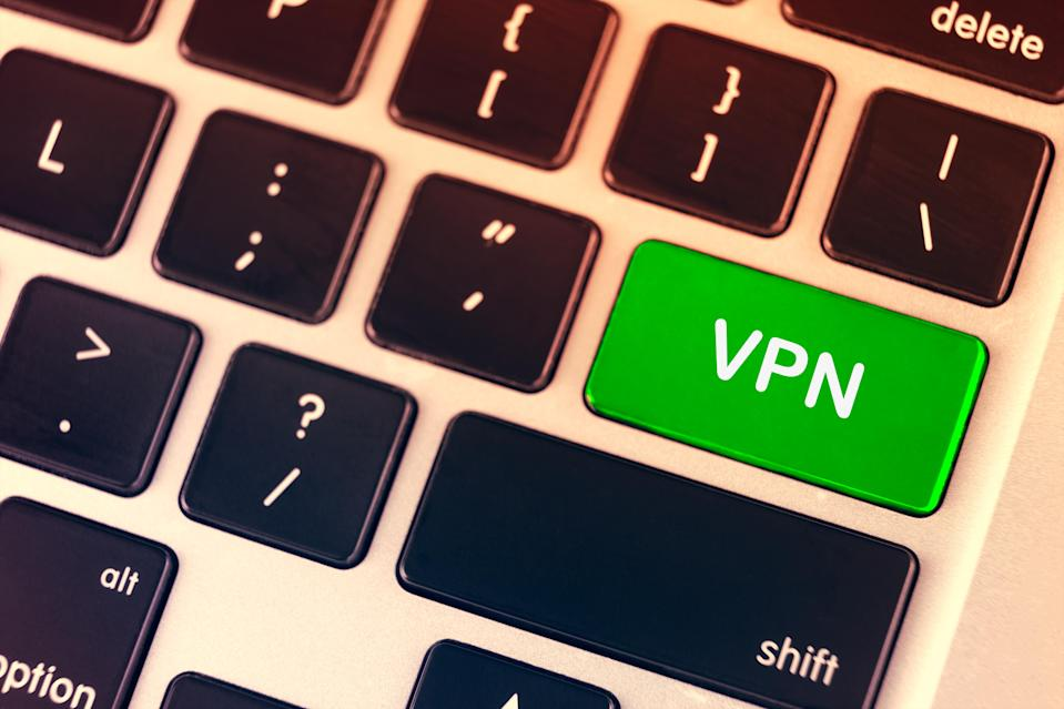 Guard against prying eyes with a reputable VPN. (Photo: Getty Images)