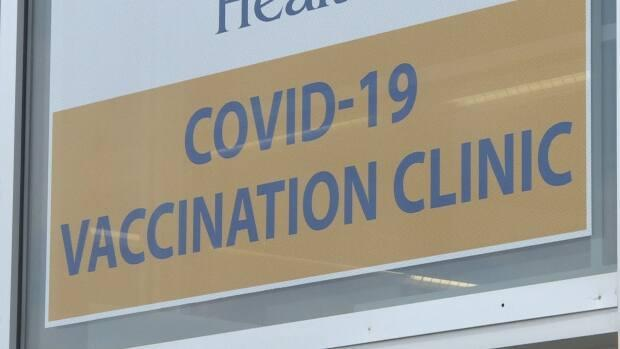 Vaccination clinics, like this one in St. John's, will remain open in the Bay St. George area as testing continues.