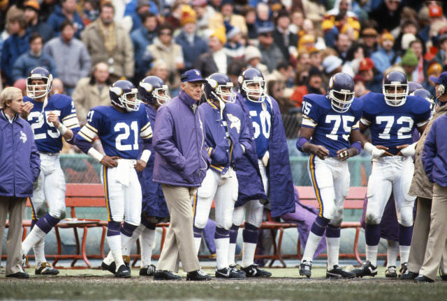 Bud Grant reached four Super Bowls, but went 0-4. (Getty Images)