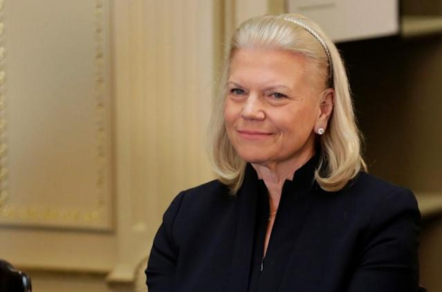 President and CEO of IBM Ginni Rometty REUTERS/Joshua Roberts