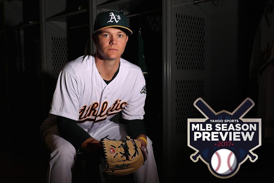 Sonny Gray is the most interesting man to watch in Oakland. (Getty Images)