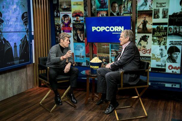 PHOTO: Willem Dafoe appears on 'Popcorn with Peter Travers' at ABC News studios, Dec. 9, 2020, in New York City. (Jeff Swartz/ABC News)