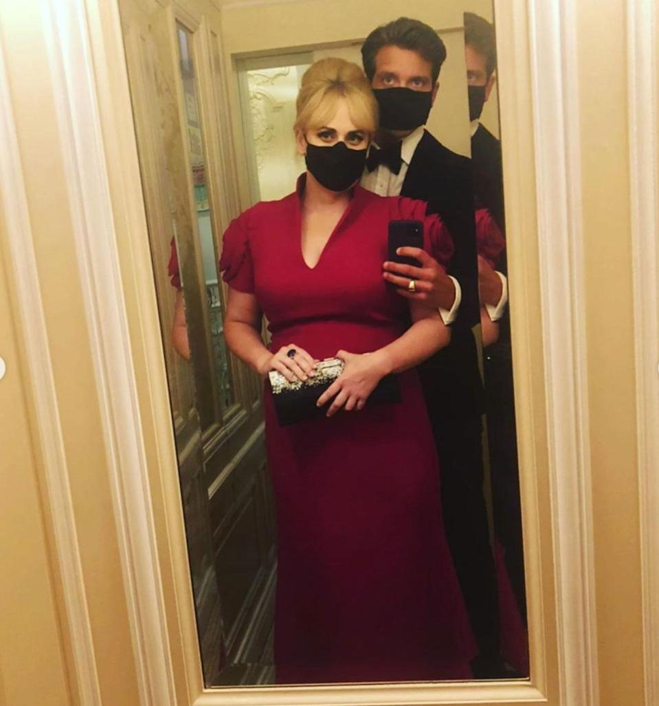 """<p>After landing in Monaco, the couple soon <a href=""""https://people.com/style/rebel-wilson-makes-red-carpet-debut-with-boyfriend-jacob-busch/"""" rel=""""nofollow noopener"""" target=""""_blank"""" data-ylk=""""slk:made their red carpet debut"""" class=""""link rapid-noclick-resp"""">made their red carpet debut</a> with a number of swoon-worthy shots at the Monte-Carlo Gala For Planetary Health, hosted by Prince Albert II of Monaco.</p> <p>Wilson later <a href=""""https://www.instagram.com/p/CFqwwLpMW0v/"""" rel=""""nofollow noopener"""" target=""""_blank"""" data-ylk=""""slk:commented"""" class=""""link rapid-noclick-resp"""">commented</a> on her fun-filled evening saying, """"Meeting the Prince with a Prince Charming by my side - what a night to remember in Monaco.""""</p>"""