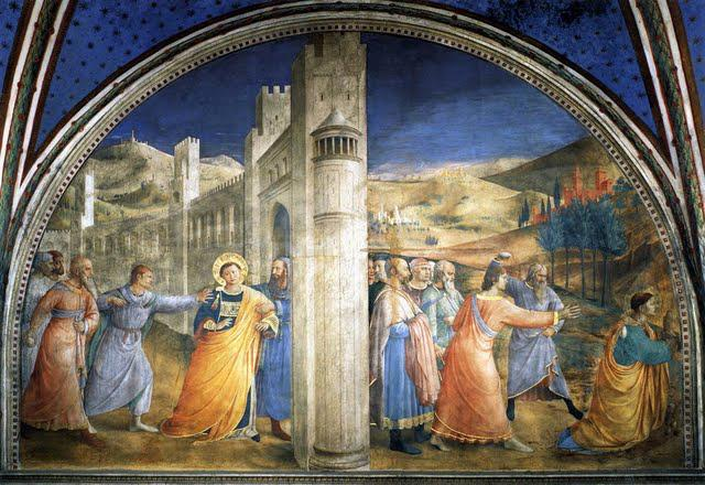 Capture and stoning of St Stephen